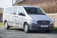 USED 2014 14 MERCEDES-BENZ VITO 2.1 113 CDI TRAVELINER 5d 136 BHP 8 Seat Plus Driver A/C NO VAT