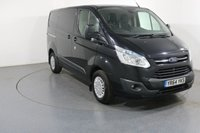 USED 2015 64 FORD TRANSIT CUSTOM 2.2 270 TREND LR P/V 124 BHP ONE OWNER with FULL FORD SERVICE HISTORY