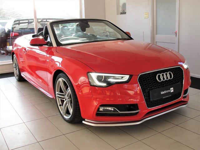 2014 14 AUDI A5 2.0 TFSI S LINE SPECIAL EDITION 2d 222 BHP Massive Specification with Cool Toys.