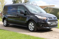 USED 2016 16 FORD TRANSIT CONNECT 1.6 240 LIMITED P/V 114 BHP Free UK delivery Plus video viewings available - Long wheel base - Full Ford History -