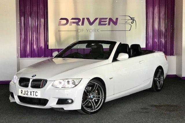 2012 12 BMW 3 SERIES 3.0 335I M SPORT 2d 302 BHP