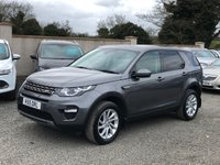 2016 LAND ROVER DISCOVERY SPORT 2.0 TD4 SE TECH 5d 180 BHP £18995.00