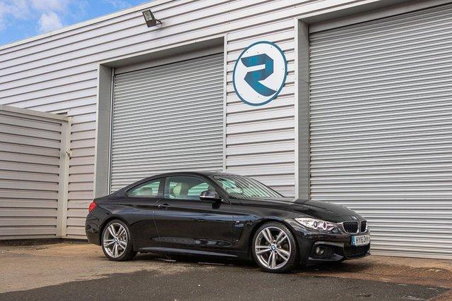USED 2016 16 BMW 4 SERIES 2.0 418D M SPORT 2d 148 BHP