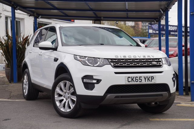 2015 65 LAND ROVER DISCOVERY SPORT 2.0 TD4 SE TECH 5d 180 BHP