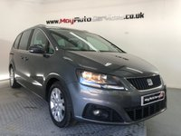 USED 2012 62 SEAT ALHAMBRA 2.0 CR TDI ECOMOTIVE SE LUX 5d 140 BHP * PAN ROOF & REVERSING CAMERA *