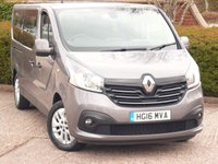 2016 RENAULT TRAFIC 1.6 LL29 SPORT ENERGY DCI 5d 125 BHP £14990.00