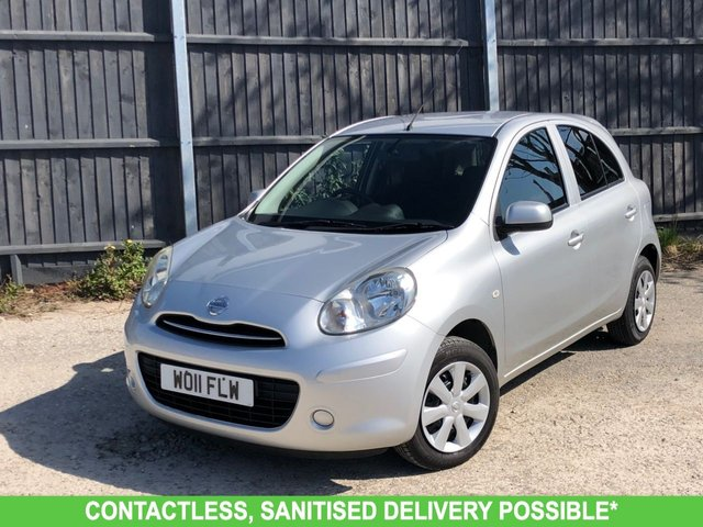 USED 2019 11 NISSAN MICRA 1.2 AUTOMATIC VISIA MARCH 5 DR 2011 AUTOMATIC, AIR CON LOW MILEAGE FINANCE ME TODAY-UK DELIVERY POSSIBLE