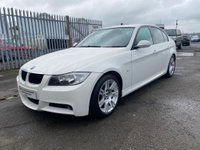 USED 2008 08 BMW 3 SERIES 2.0 318i M Sport 4dr LOW MILES+GREAT COND+1 YR MOT!