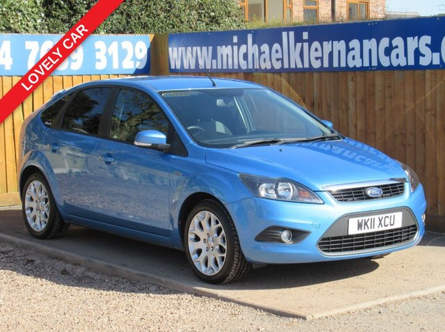 USED 2011 11 FORD FOCUS 1.8 ZETEC 5d 125 BHP LOVELY CLEAN CAR THROUGHOUT