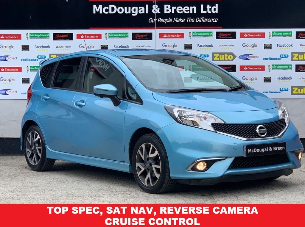 USED 2014 64 NISSAN NOTE 1.5 DCI TEKNA 5d 90 BHP