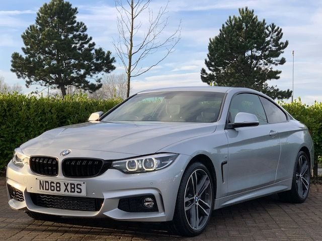 USED 2018 68 BMW 4 SERIES 3.0 435D XDRIVE M SPORT 2d 309 BHP