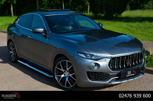 USED 2018 18 MASERATI LEVANTE 3.0D V6 GranLusso ZF 4WD (s/s) 5dr PAN ROOF+360 CAM+SOFT CLOSE