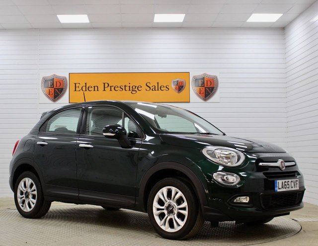 USED 2016 65 FIAT 500X 1.4 MULTIAIR POP STAR 5d 140 BHP