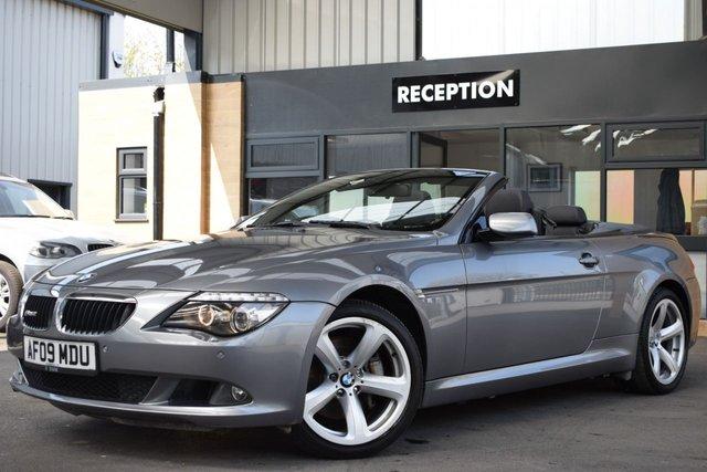 USED 2009 P BMW 6 SERIES 3.0 635D SPORT 2d 282 BHP 9 SERVICE STAMPS, 2 KEYS, STUNNING BMW 635D, 282 BHP!