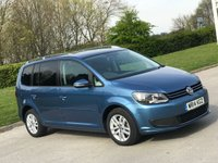 USED 2014 14 VOLKSWAGEN TOURAN 2.0 SE TDI BLUEMOTION TECHNOLOGY 5d 138 BHP