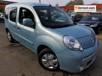 2010 RENAULT KANGOO 1.5 DYNAMIQUE TOMTOM DCI 5d 86 BHP £2990.00