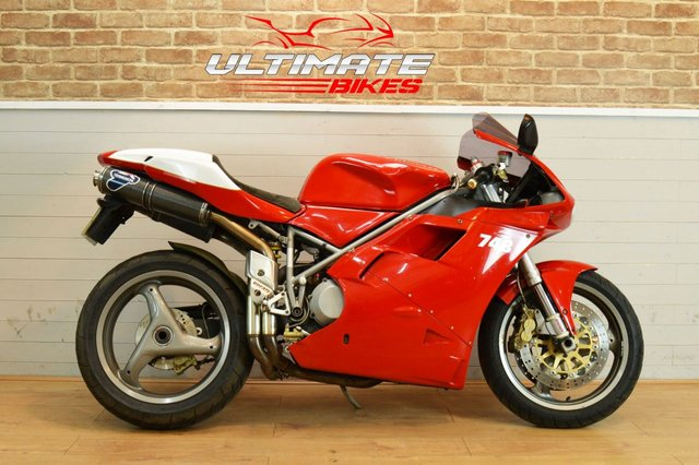 USED 2001 X DUCATI 748 BIPOSTO - FREE CONTACTLESS DELIVERY
