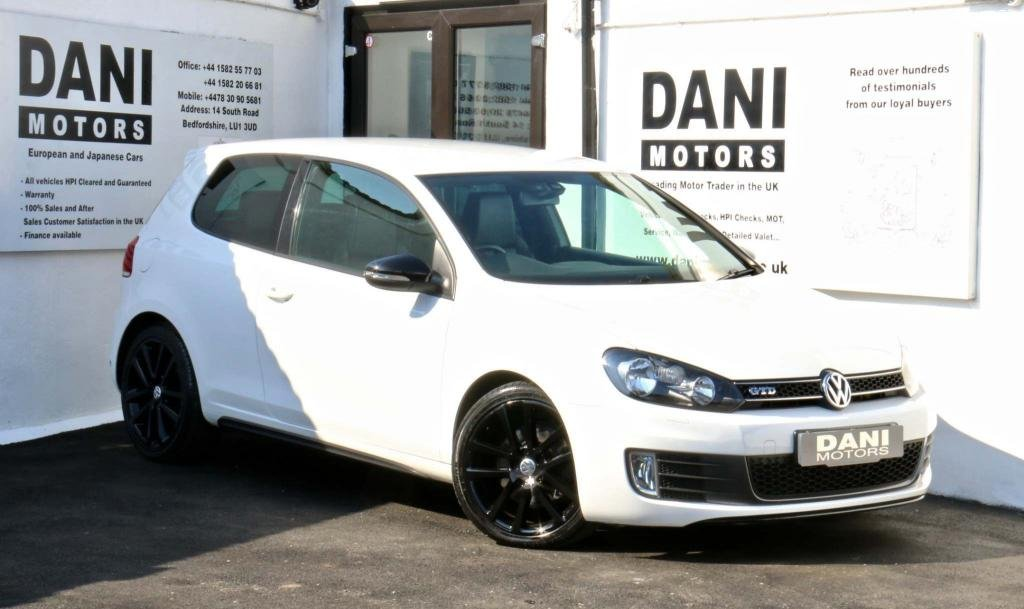 USED 2012 62 VOLKSWAGEN GOLF 2.0 TDI GTD DSG 3dr LEATHERS*HEATED SEATS*