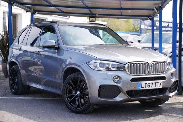 2017 67 BMW X5 3.0 XDRIVE40D M SPORT 5d 309 BHP