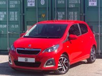 USED 2017 17 PEUGEOT 108 1.2 PureTech Allure 5dr BUY ONLINE +FREE HOME DELIVERY