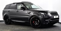 """USED 2017 17 LAND ROVER RANGE ROVER SPORT 3.0 SD V6 Autobiography Dynamic CommandShift 2 4X4 (s/s) 5dr Pan Roof, Stealth Pack, 22""""s +"""
