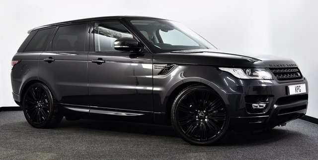"""USED 2015 15 LAND ROVER RANGE ROVER SPORT 3.0 SD V6 HSE 4X4 (s/s) 5dr  Pan Roof, Black Pack, 22""""s ++"""