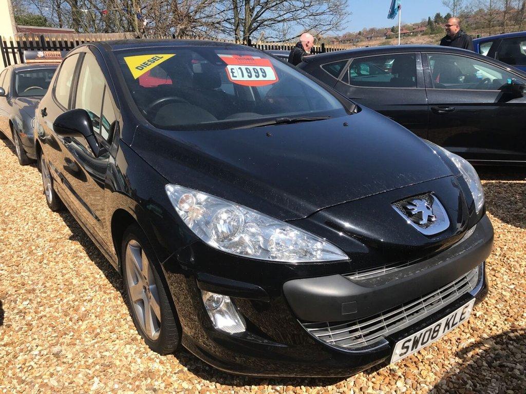 2008 Peugeot 308 Sport HDI £1,999