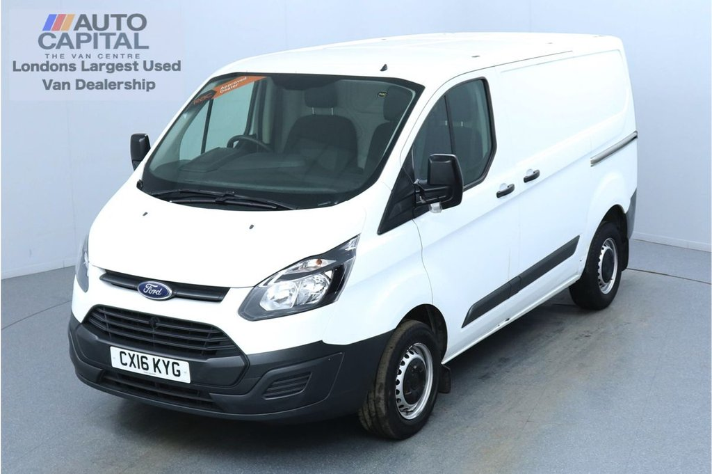 USED 2016 16 FORD TRANSIT CUSTOM 2.2 290 L1 H1 100 BHP No VAT Trade sale only, No warranty   2 Owner From New
