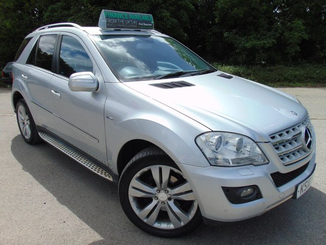 2010 10 MERCEDES-BENZ M-CLASS 3.0 ML350 CDI BLUEEFFICIENCY SPORT 5d 231 BHP