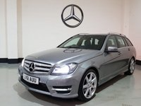 "USED 2011 61 MERCEDES-BENZ C-CLASS 2.1 C200 CDI BLUEEFFICIENCY SPORT 5d 135 BHP 1 Prev Owner/Sat-Nav/Heated Leather/Power Boot/18""Alloys"