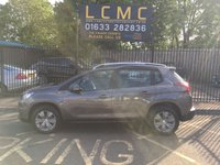 USED 2017 17 PEUGEOT 2008 1.2 PURETECH ACTIVE 5d 82 BHP METALLIC NIMBUS GREY PAINT WORK, LOVELY CHARCOAL CLOTH UPHOLSTERY, 16 INCH HYDRE ALLOY WHEELS, AIRCON, BLUETOOTH, CRUISE CONTROL, R/RAILS, 1 OWNER, LOW MILEAGE, CHEAP MPV