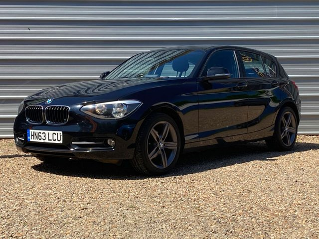 USED 2013 63 BMW 1 SERIES 1.6 116I SPORT 5d 135 BHP Only 54,000m Only 2 Pre owners