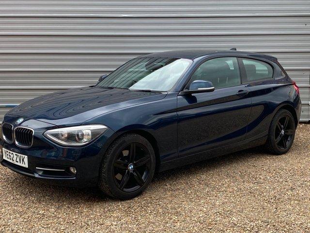 2012 62 BMW 1 SERIES 2.0 120D SPORT 3d 181 BHP