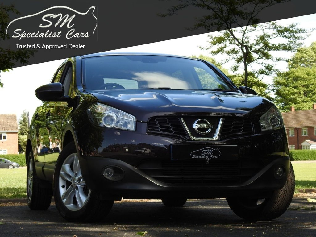 USED 2012 61 NISSAN QASHQAI+2 1.5 ACENTA PLUS 2 DCI 5d 110 BHP ONLY 38K FROM NEW A/C VGC