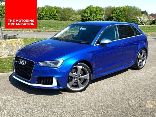 USED 2016 16 AUDI A3 2.5 RS3 SPORTBACK QUATTRO NAV 447BHP AUTO 5 DR ( STAGE 2 REMAP) BANG AND OLUFSEN* 447BHP*
