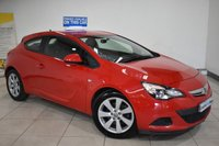 USED 2014 64 VAUXHALL ASTRA 1.4 GTC SPORT S/S 3d 118 BHP