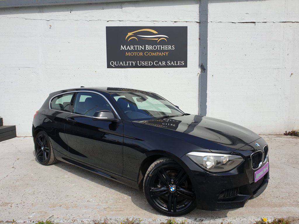 USED 2012 62 BMW 1 SERIES 2.0 118D M SPORT 3d 141 BHP