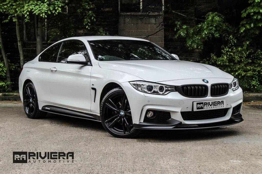 USED 2014 64 BMW 4 SERIES 3.0 430D XDRIVE M SPORT 2d 255 BHP