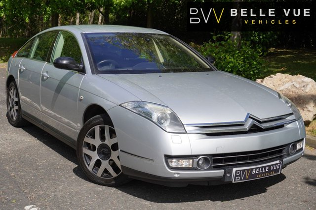 USED 2009 59 CITROEN C6 2.7 EXCLUSIVE V6 HDI 4d 202 BHP *SATELLITE NAVIGATION, 10 SERVICE STAMPS, BLUETOOTH!*