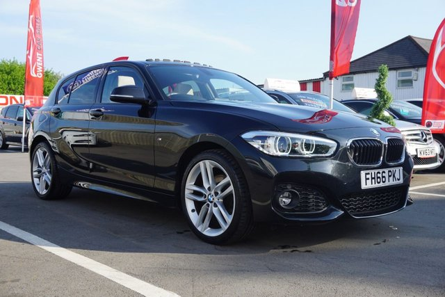 USED 2016 66 BMW 1 SERIES 2.0 120D XDRIVE M SPORT 5d 188 BHP !!! NOT TO BE MISSED , GREAT COLOUR COMBINATION *** ONLY 21,452 MILES ***