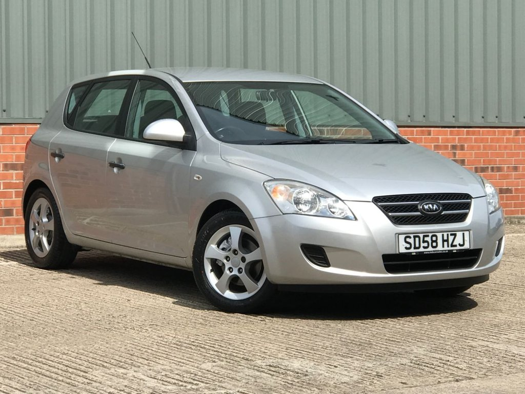 USED 2008 58 KIA CEED 1.6 GS 5d 121 BHP WELL CARED FOR EXAMPLE