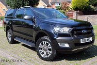 USED 2016 16 FORD RANGER WILDTRAK 3.2 TDCI AUTO 4X4  DOUBLE CAB PICK-UP [200 BHP] * NO VAT *