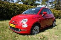 2016 FIAT 500 1.2 LOUNGE 3dr 69 BHP £6495.00