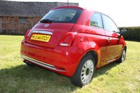 USED 2016 66 FIAT 500 1.2 LOUNGE 3dr 69 BHP BUY ONLINE   FREE DELIVERY WITHIN 50 MILES