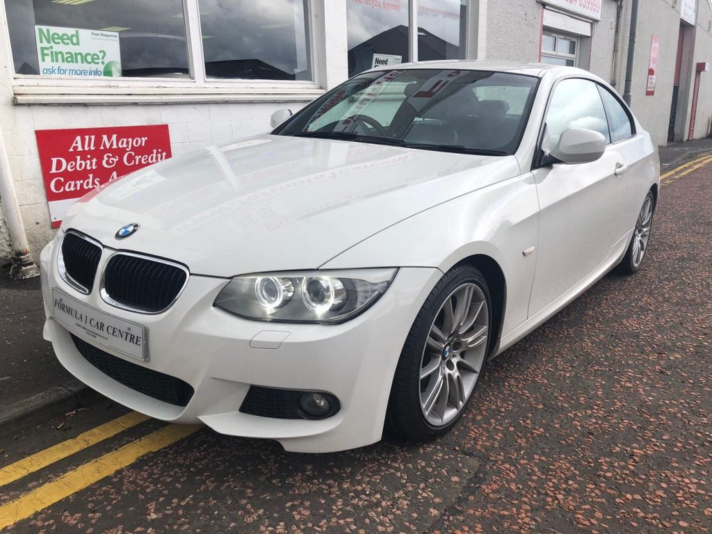 USED 2012 12 BMW 3 SERIES 2.0 320d M Sport 2dr m sport, leather,alloys