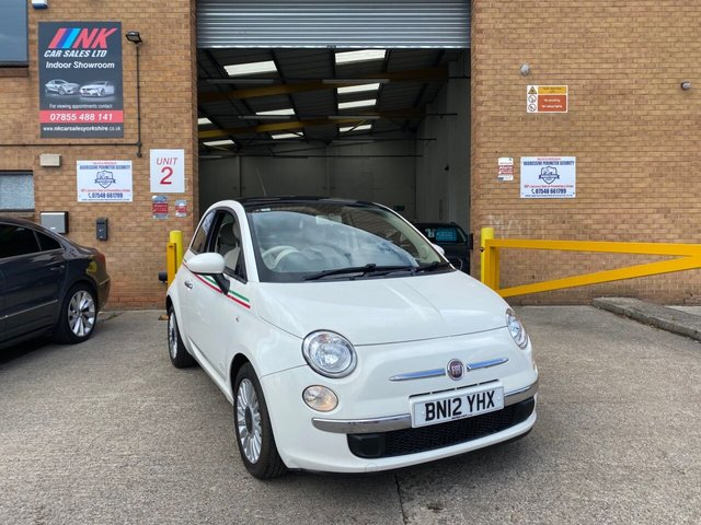 2012 12 FIAT 500 0.9 LOUNGE 3d 85 BHP SOLD TO CHARLOTTE FROM LEICESTER