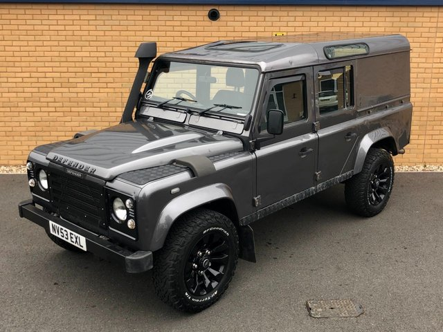 2003 53 LAND ROVER DEFENDER 110 // TD5 2.5L // COUNTY // LWB // 120 BHP // Px swap