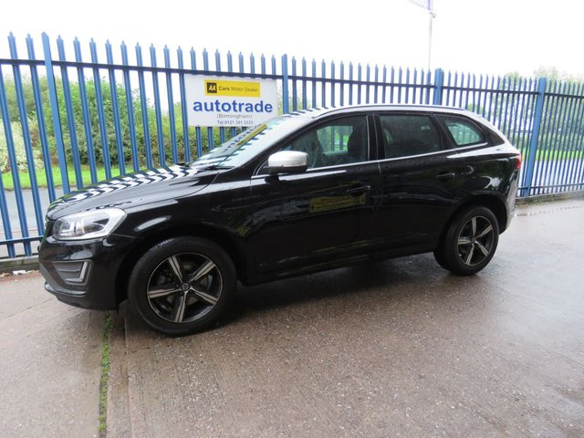 USED 2016 66 VOLVO XC60 2.4 D4 R-DESIGN LUX NAV AWD 5d 187 BHP SAT NAV, ULEZ COMPLIANT Sat Nav- Leather Heated Electric Seats-Service History