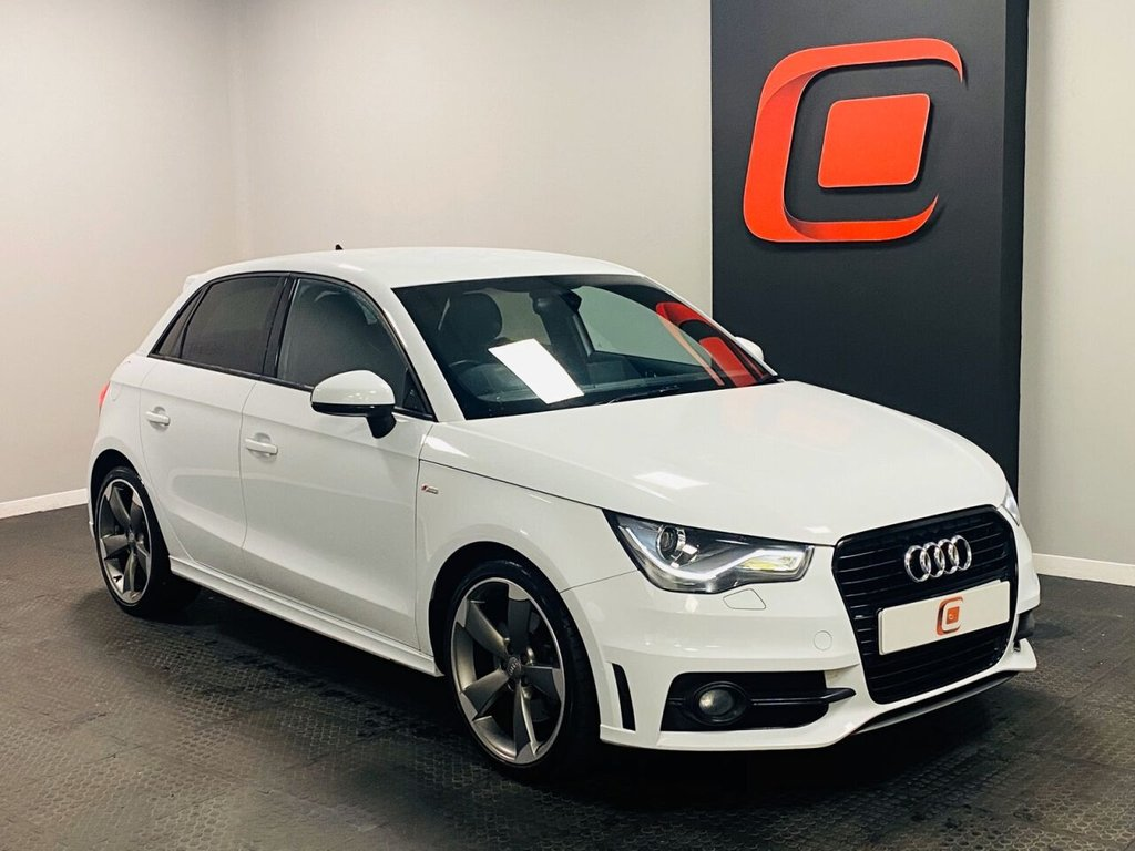 USED 2014 14 AUDI A1 2.0 SPORTBACK TDI S LINE BLACK EDITION 141 BHP LOW MILES + PRIVACY GLASS + 18 INCH ROTOR ALLOYS + FSH
