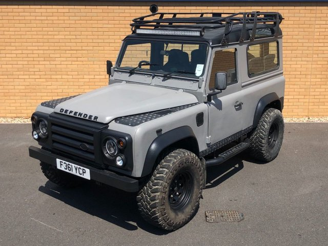 1989 F LAND ROVER DEFENDER  90 // 300TDI // 2.5L // COUNTY D TURBO // EXPORT // PX SWAP